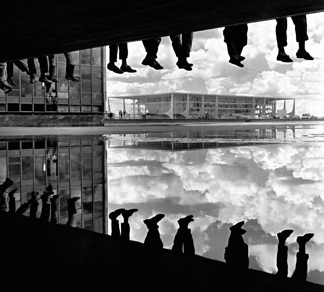 pé ante pé,trabalhadores, candangos, Construção e inauguração de Brasilia 1