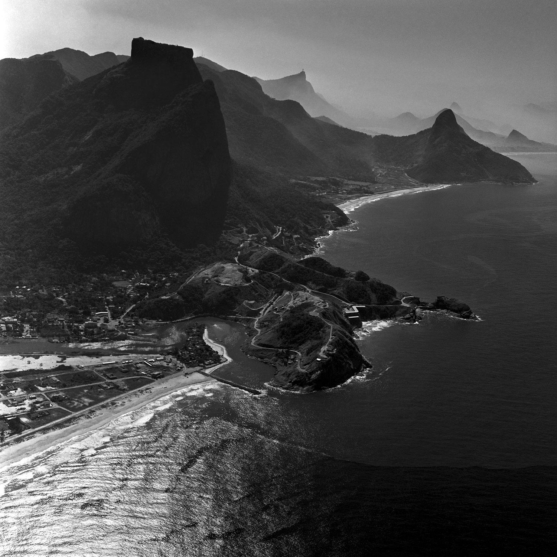 Rio de Janeiro década de 60 quebra mar Barra da Tijuca 07