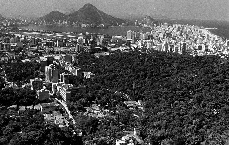 Vista aérea do Rio de Janeiro RIO-ANTIGO-28